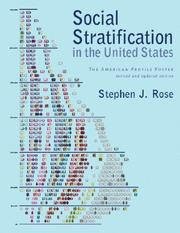 Cover of: Social Stratification in the United States | Stephen J. Rose