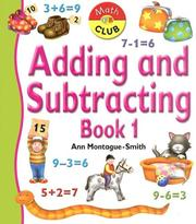 Cover of: Adding And Subtracting | Ann Montague-Smith