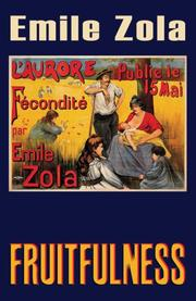 Cover of: Fruitfulness (Fécondité)