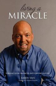 Cover of: Living a Miracle | Randy Sims