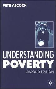 Cover of: Understanding Poverty | Peter Alcock