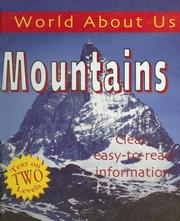 Cover of: World About Us Mountains (World About Us)