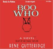 Cover of: Boo Who (The Boo Series #2) | Rene Gutteridge