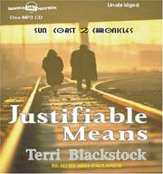 Cover of: Justifiable Means