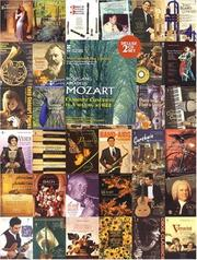 Cover of: Music Minus One Bb Clarinet or A Clarinet: MOZART Quintet in A, KV581 (Book & CD)