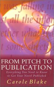 Cover of: From pitch to publication
