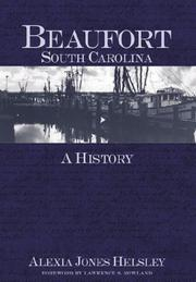 Cover of: Beaufort, South Carolina: A History