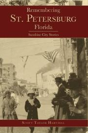 Cover of: Remembering St. Petersburg, Florida | Scott Taylor Hartzell