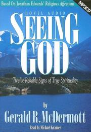 Cover of: Seeing God | Gerald R. McDermott