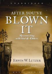 Cover of: After You've Blown It