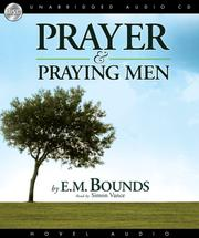 Cover of: Prayer and Praying Men