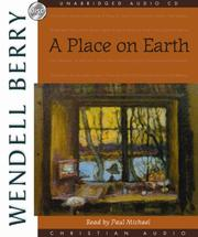 Cover of: A Place on Earth | Wendell Berry
