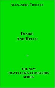 Cover of: Desire And Helen | Alexander Trocchi
