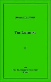 Cover of: The libertine