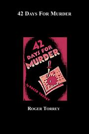 Cover of: 42 Days for Murder