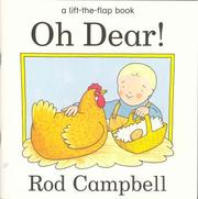 Cover of: Oh Dear | Rod Campbell