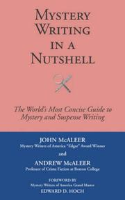 Cover of: Mystery Writing in a Nutshell | John McAleer