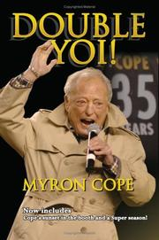 Cover of: Myron Cope | Myron Cope