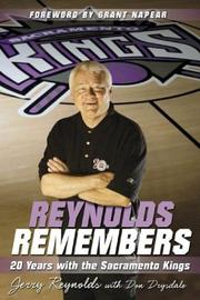 Cover of: Reynolds Remembers | Jerry Reynolds
