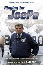 Playing for JoePa by Ken Rappoport
