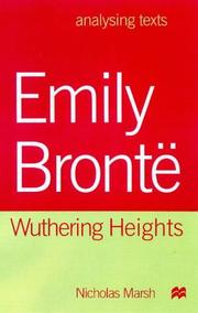 Cover of: Emily Bronte (Analysing Texts)