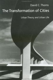 Cover of: The Transformation of Cities | David C. Thorns
