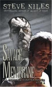 Cover of: Savage Membrane | Steve Niles