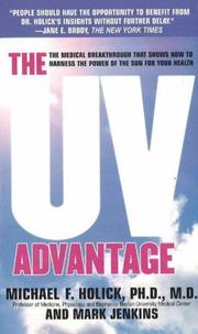 Cover of: The UV Advantage | Michael F. Holick