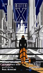 Cover of: Mr. X Volume 1 (Mister X)