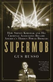 Cover of: Supermob | Gus Russo