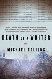 Cover of: Death of a Writer: A Novel