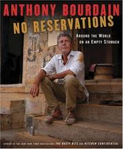 Cover of: No Reservations: Around the World on an Empty Stomach