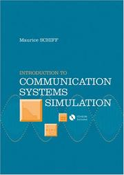 Cover of: Introduction to communication systems simulation | Maurice Schiff