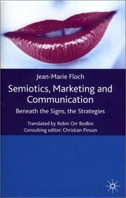 Cover of: Semiotics, Marketing and Communication