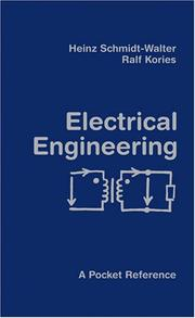 Cover of: Electrical Engineering | Ralf Kories