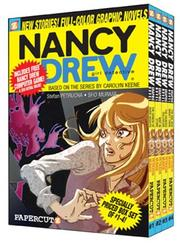 Cover of: The Demon of River Heights/Writ in Stone/The Haunted Dollhouse/The Girl Who Wasn't There (Nancy Drew Graphic Novels: Girl Detective 1-4)
