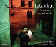 Cover of: Alex Webb: Istanbul