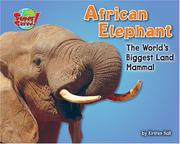 Cover of: African elephant