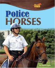 Cover of: Police Horses (Horse Power) |