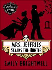 Cover of: Mrs. Jeffries stalks the hunter | Emily Brightwell