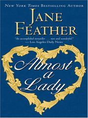 Cover of: Almost a Lady | Jane Feather