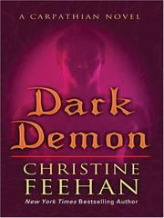 Cover of: Dark demon