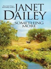 Cover of: Something More |