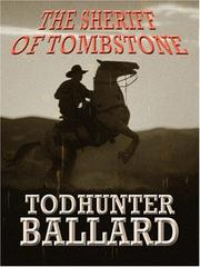 Cover of: The sheriff of Tombstone