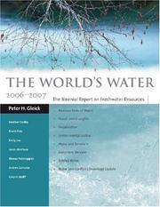 Cover of: The World's Water 2006-2007
