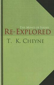 Cover of: The Mines of Isaiah Re-Explored