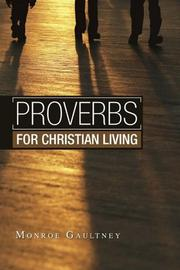 Cover of: Proverbs for Christian Living
