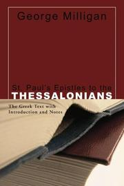 Cover of: St. Paul's Epistles to the Thessalonians