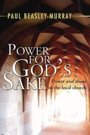 Cover of: Power for God