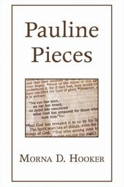 Cover of: Pauline Pieces